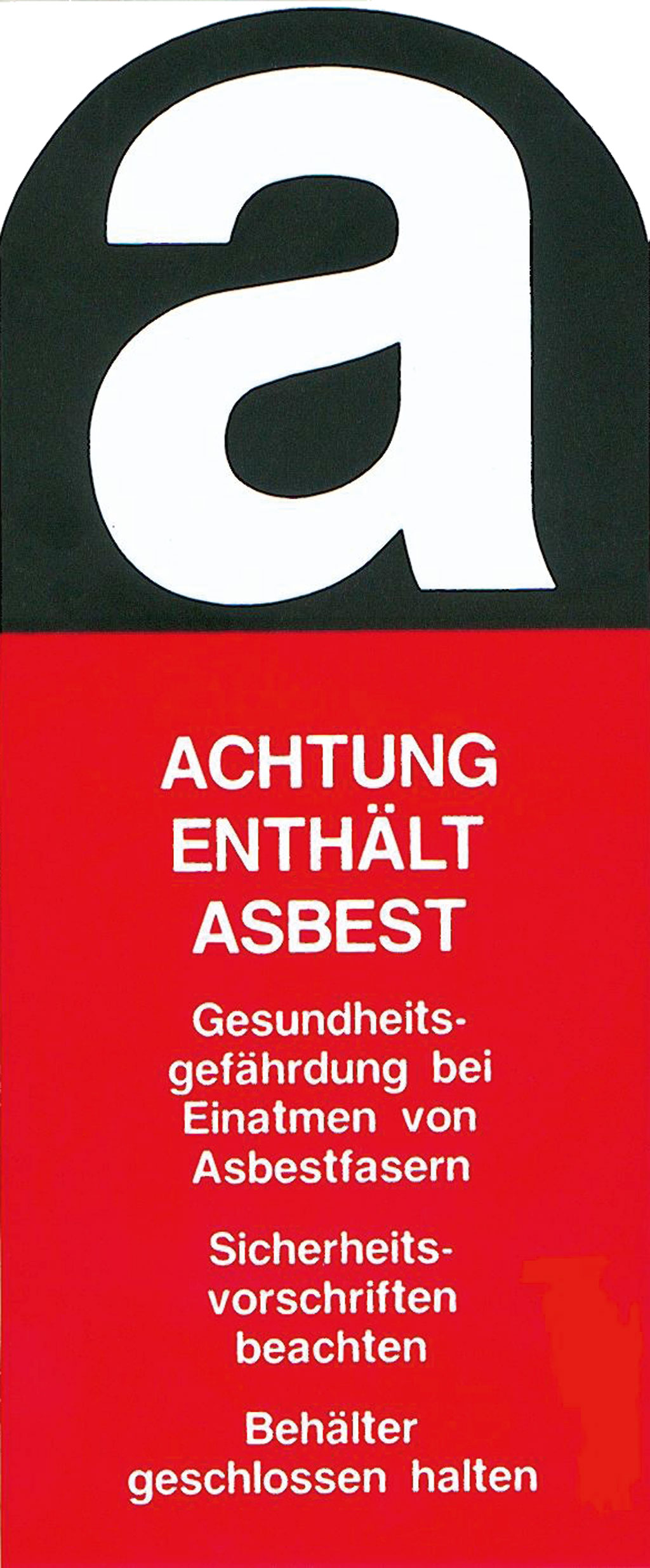 Ratgeber Asbest