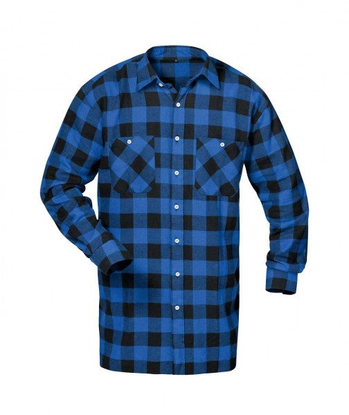 Flanellhemd MICHIGAN von Craftland, blau