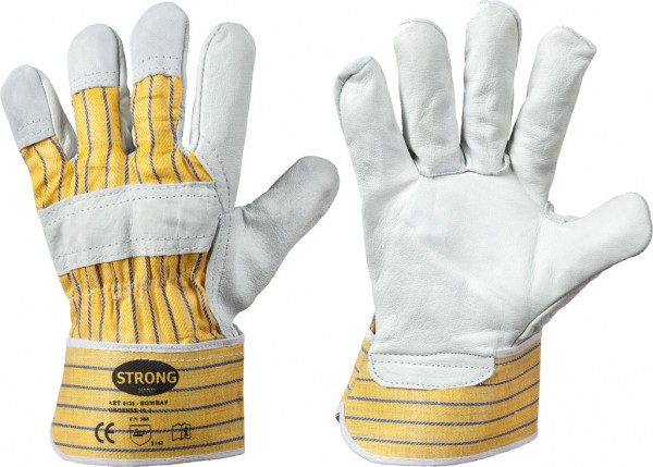 Rindvollleder- Handschuhe BOMBAY 0158