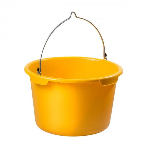 40 Liter Kübel, anschlagbar, gelb