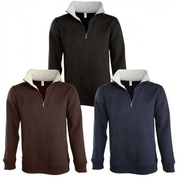 Zip- Sweatshirts SCOTT aus Mischgewebe
