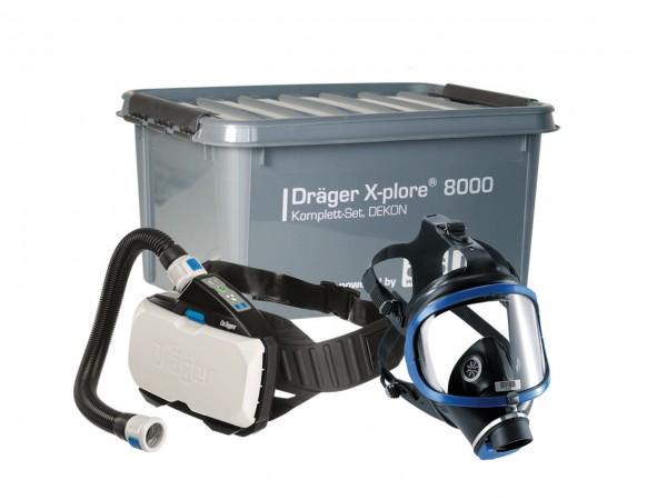 Dräger X-plore 8000, Komplett-Set DEKON