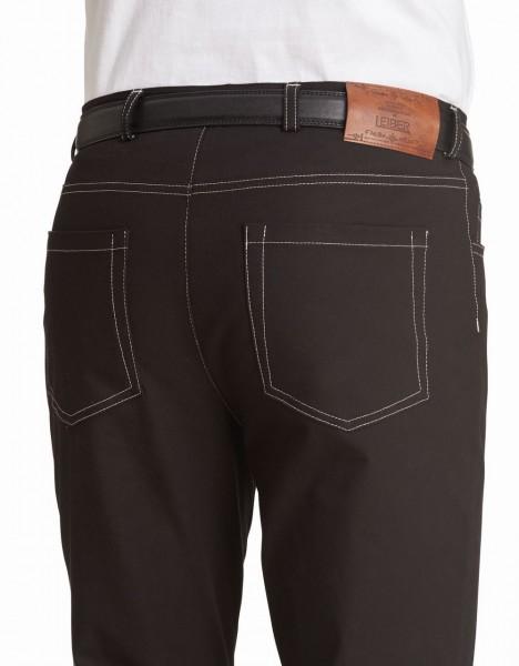 Herren- Jeans Hose von Leiber, schwarz