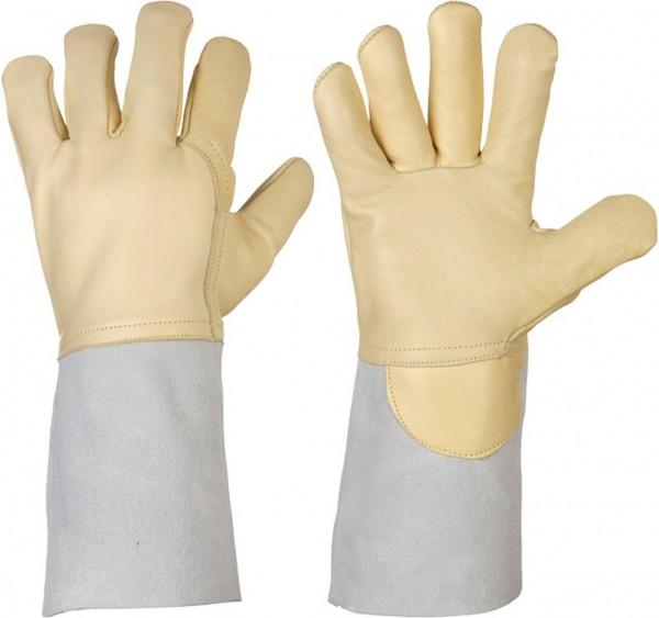5 Finger Nappaleder-Schweißerhandschuhe