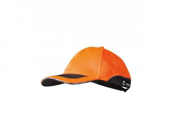 Warnschutz- Cap ROMAN von elysee, orange