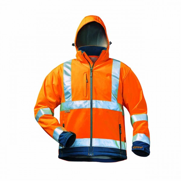 Warnschutz- Softshell Jacke 22731
