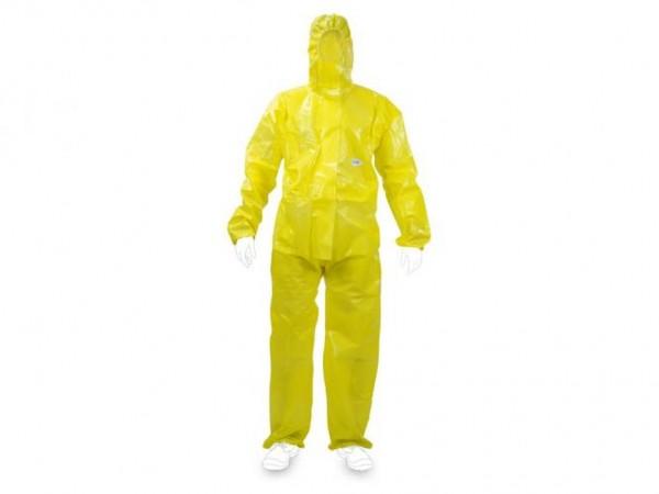 Chemieschutzoverall JetGuard Kat 3 gelb
