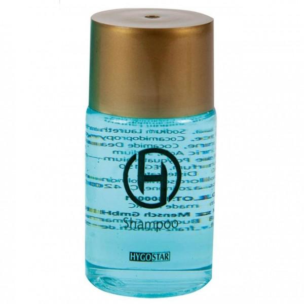 Shampoo Flasche von Hygostar, 25ml, 50er